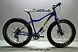 FAT Bicicleta BIKE DEMON MTB Evolución de Aluminio 26 X 4,0 Frenos Hidráulicos