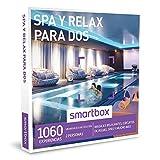 SMARTBOX - Caja Regalo - SPA Y RELAX PARA DOS - 1060 masajes relajantes, circuitos de aguas, saps y mcuho más a elegir