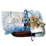 Cesta recien nacido - Noche Optima azul - Canastila regalo bebe