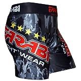 MMA Vale Tudo corto Grappling Lucha Formación Match compresión Tight por Farabi, small