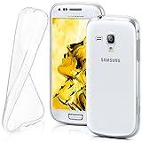 Funda protectora OneFlow para funda Samsung Galaxy S3 Mini Carcasa silicona TPU 0,7 mm   Accesorios cubierta protección móvil   Funda móvil paragolpes bolso traslúcida transparente en Trasparente