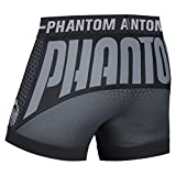 "Phantom Athletics Vale Tudo Pantalones Cortos ""Storm One-Función-Pantalón, MMA, BJJ MMA Grappling Freefight-Pantalones cortos, pantalones cortos, negro"